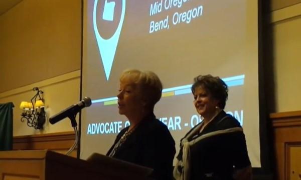 NWCUA Oregon Advocate of the Year Jan Uffelman
