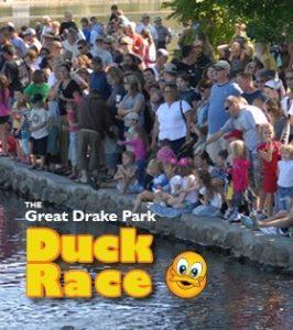 Great Drake Park Duck Race