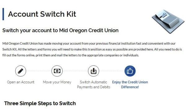 Getting Started: Account Switch Kit