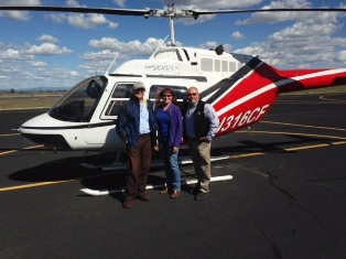 Leading Edge Helicopter-Mike-Lisa-Bill | Mid Oregon Credit Union