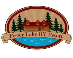 Foster Lake RV Resort Logo   Mid Oregon Credit Union