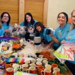 Madras Branch Team Making Baskets for Jefferson County Meals on Wheels/Jefferson County Senior Center