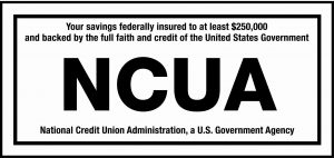 NCUA Insurance Label