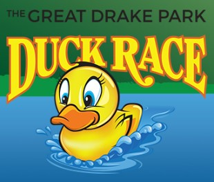 The Great Drake Park Duck Race Logo | Buy Your Tickets Online Here!