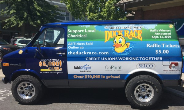 The Duck Race Goes On!