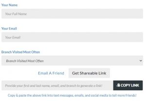 Refer-A-Friend Web Page-To Get Link