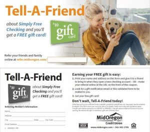 Tell-A-Friend Referral Slip- Piece of Mind- Sep2020