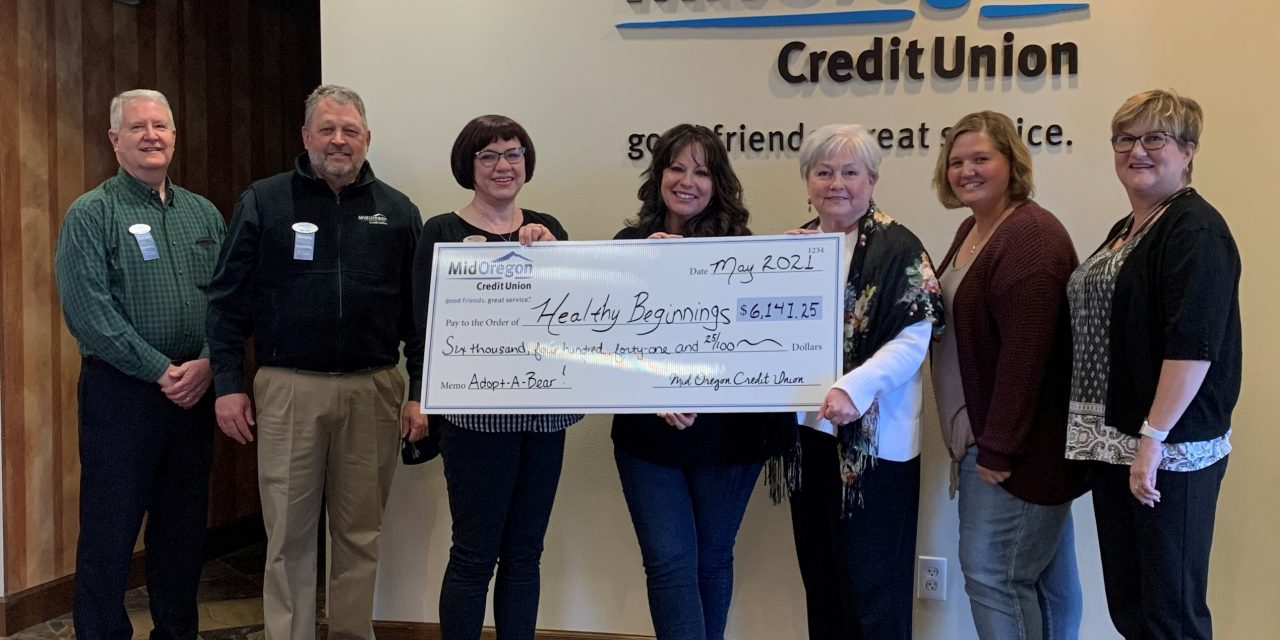 Adopt-A-Bear Donations Raise More Than $6,100 for Healthy Beginnings