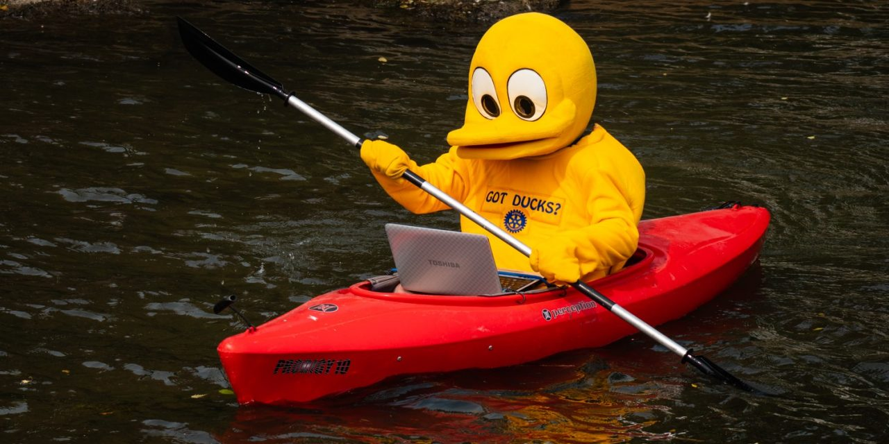 Support the 2021 Duck Race Raffle
